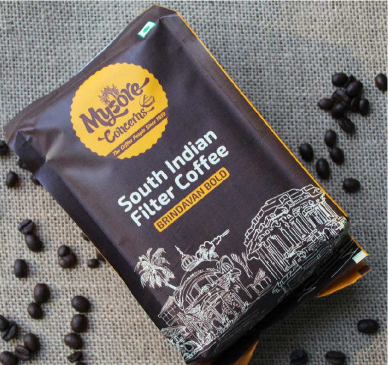 Freshly Roasted South Indian Coffee - Mysore Concerns Coffee